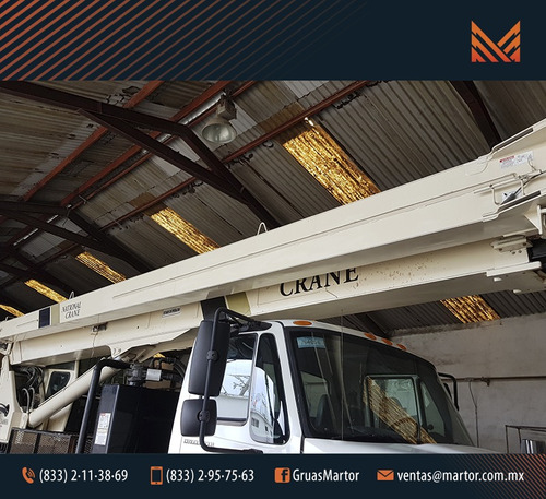 grua titan national 30 ton