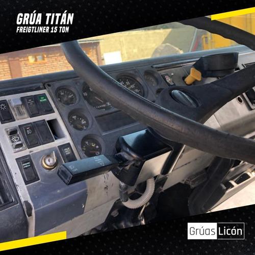 grua titan national crane 562 1999 15 toneladas lista