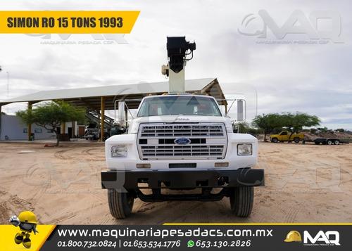 grua titan simon ro - ford 15 tons 1993