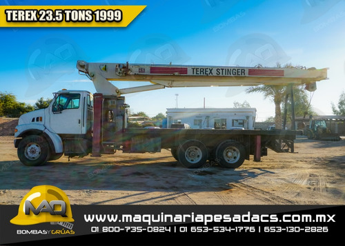 grua titan sterling  - terex 23.5 tons 1999, 17, 20, 21, 25
