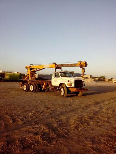 grua titan telelect 10 tons camion ford series precio neto