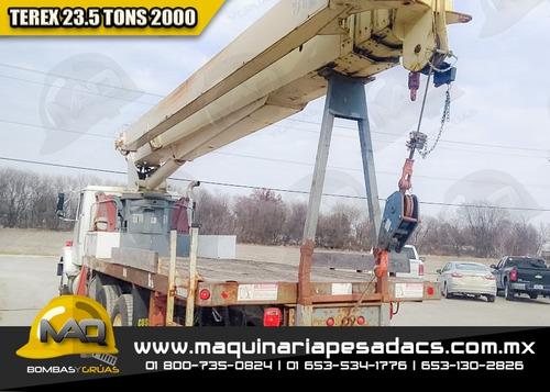 grua titan volvo - terex 2000 23.5 tons