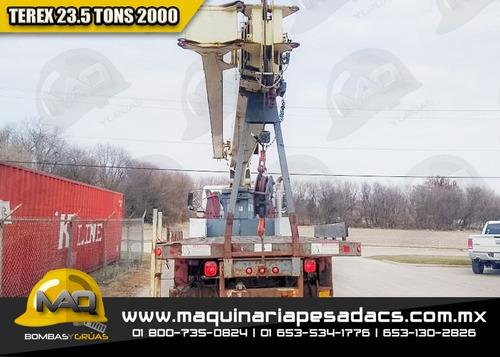 grua titan volvo - terex 23.5 tons 2000