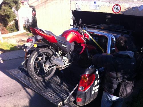grua transporte de motos 24/7