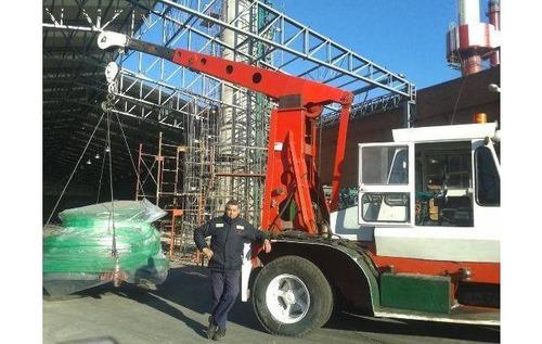 gruas crane 7.5 toneladas