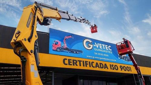 grúas  hidráulicas  nuevas g-vetec - todas las capacidades