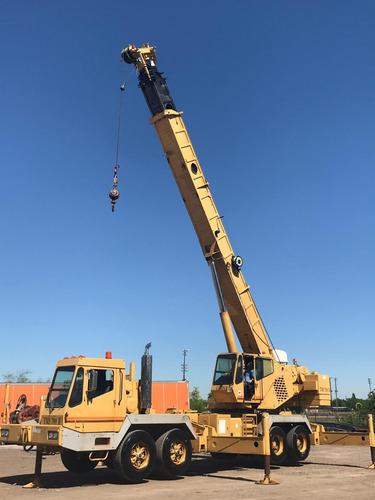 gruas sobre camion 50 ton.