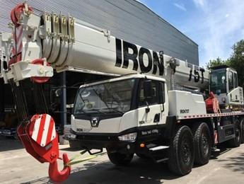grúas sobre camión xcmg br750 - 0km - 75 toneladas-  oferta!