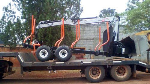 gruas y carros trailers  forestal
