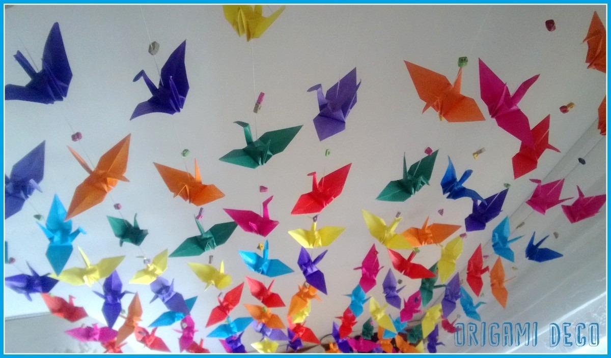 Grullas Origami Decorar Fiestassouvenirambientación