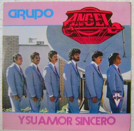 grupo angel / y su amor sincero  1 disco lp vinilo