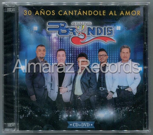 grupo bryndis 30 años cantandole al amor cd+dvd