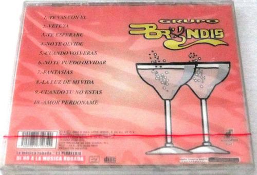grupo bryndis - a su salud nuevo cerrado cd
