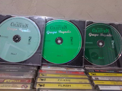 grupo bryndis - coleccion 3 cds originales