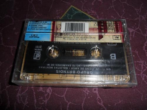 grupo bryndis, un juego de amor cassette nuevo sellado, disa