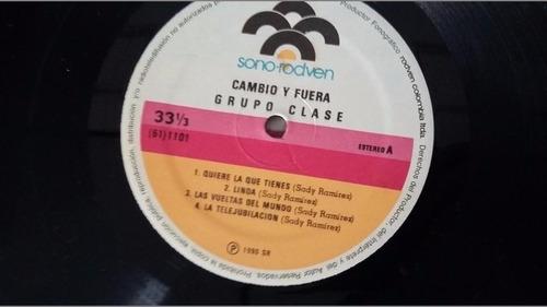 grupo clase cambio y fuera  tropical cumbia bailable