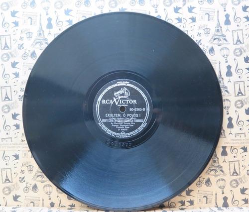 grupo coral da igreja evangélica fluminense  disco 78 rpm