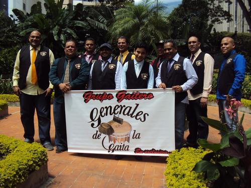 grupo de gaita koquigaita y generales de la gaita