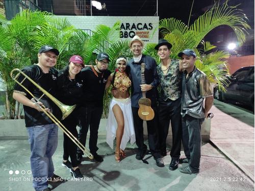 grupo de samba garotas, grupo de tambor caneyeros