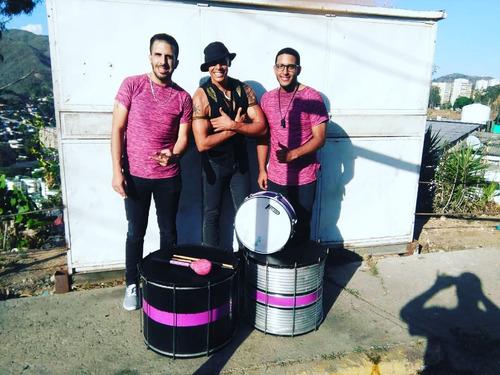 grupo de samba - grupo de tambores - hora loca - caracas