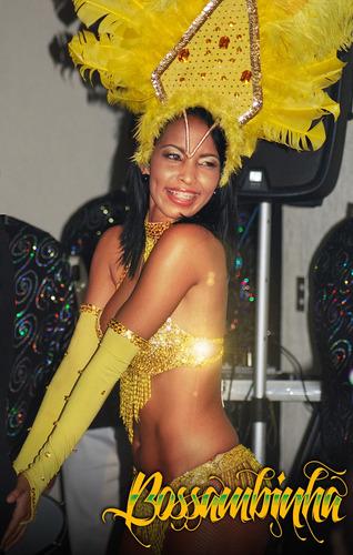 grupo de samba show bossambinha hora loca garotas cotillón