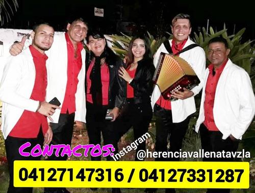 grupo de vallenato en caracas y maracay