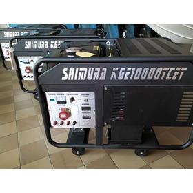 Grupo Electr. Shimura Kge10000 Trifasico 10000w Off!!!