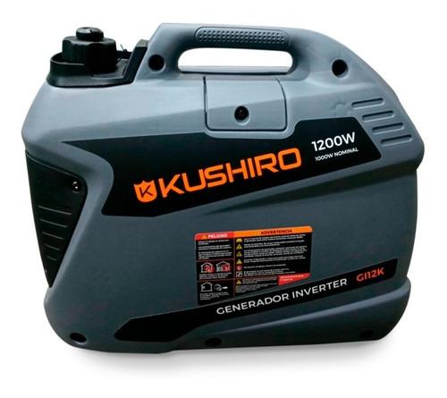 grupo electrógen generador inverter kushiro 1200w monofasico