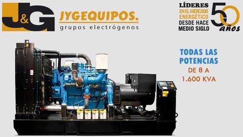 grupo electrógeno 45 kva a gas new holland cabina acústica