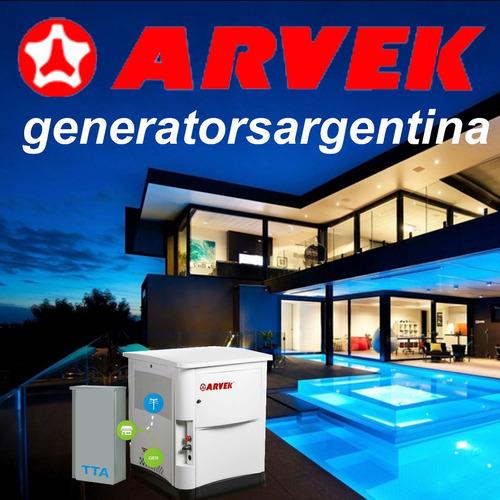 grupo electrógeno arvek gas 10kva servicio de mantenimiento