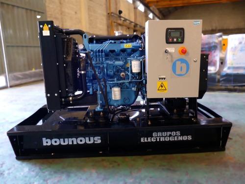 grupo electrogeno bounous 20/18 kva nuevo