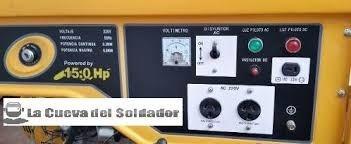 grupo electrogeno forest garden 8750 15hp generador  lacueva