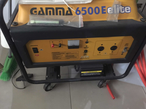 grupo electrógeno gamma 6500 e elite