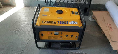 grupo electrogeno gamma 7500e elite