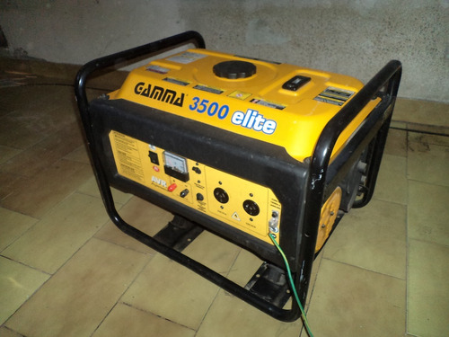 grupo electrogeno gamma elite 3500 - muy poco uso