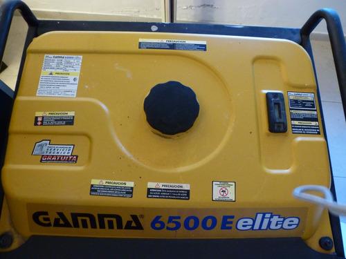 grupo electrogeno gamma elite 6500e