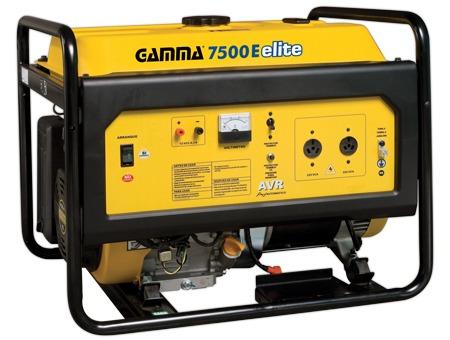 grupo electrogeno gamma elite 7500e generador 7000w (rojo)