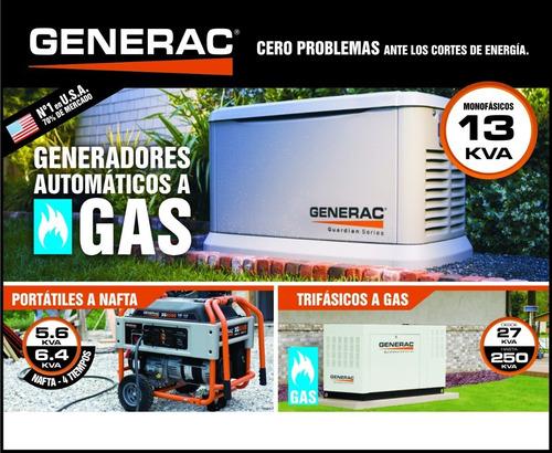 grupo electrogeno generac gas visita técnica asesoramiento