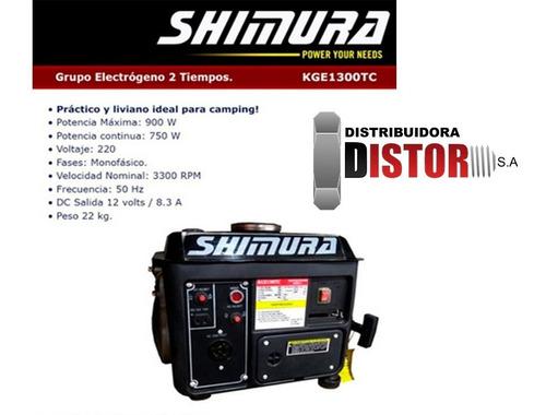 grupo electrogeno generador 900w camping shimura kge1300tc