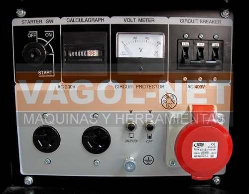 grupo electrogeno generador electrico trifasico 10 kva niwa