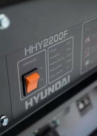 grupo electrogeno generador hyundai 2200fe 2.2kva 5.5hp