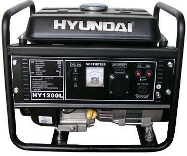 grupo electrógeno generador hyundai hy1200l 4 hp 1.2 kva