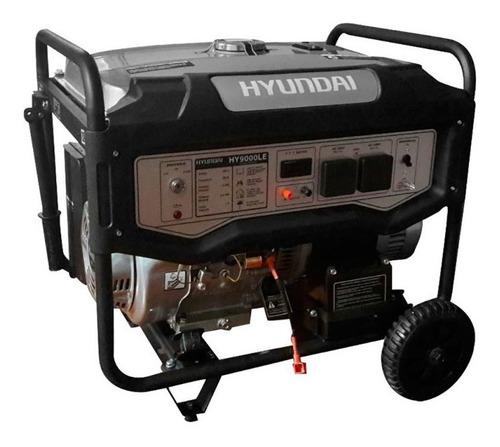 grupo electrogeno generador hyundai hy9000 15hp 7.7kv cuotas