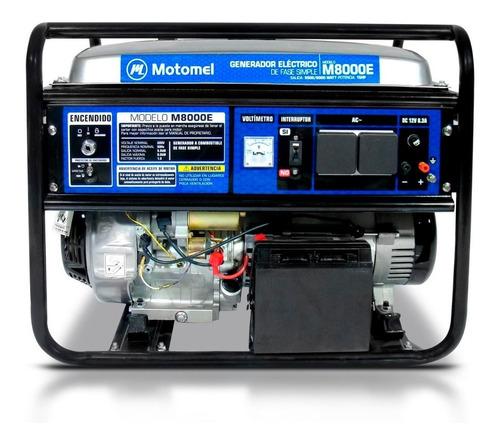 grupo electrogeno generador motomel 6000w 4t ohv cuotas