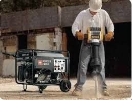 grupo electrogeno generador porter cable pci5000 13hp