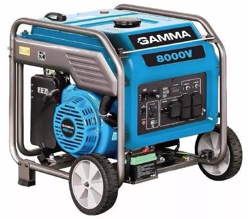 grupo electrogeno generador tecnología inverter gamma 8000 w