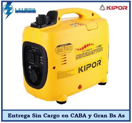 Grupo Electrógeno Kipor Ig2600 Iverter 2 6 Kva