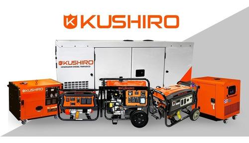 grupo electrógeno kushiro generador 6000w cabinado