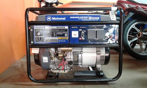 grupo electrógeno motomel m5500e - tamburrino motos