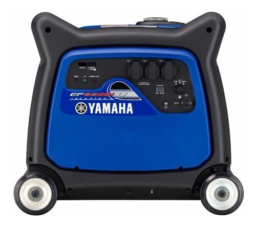grupo electrógeno  yamaha ef 6300 is + palermo bikes